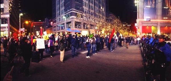 Denver protest on Dec. 13, 2014.