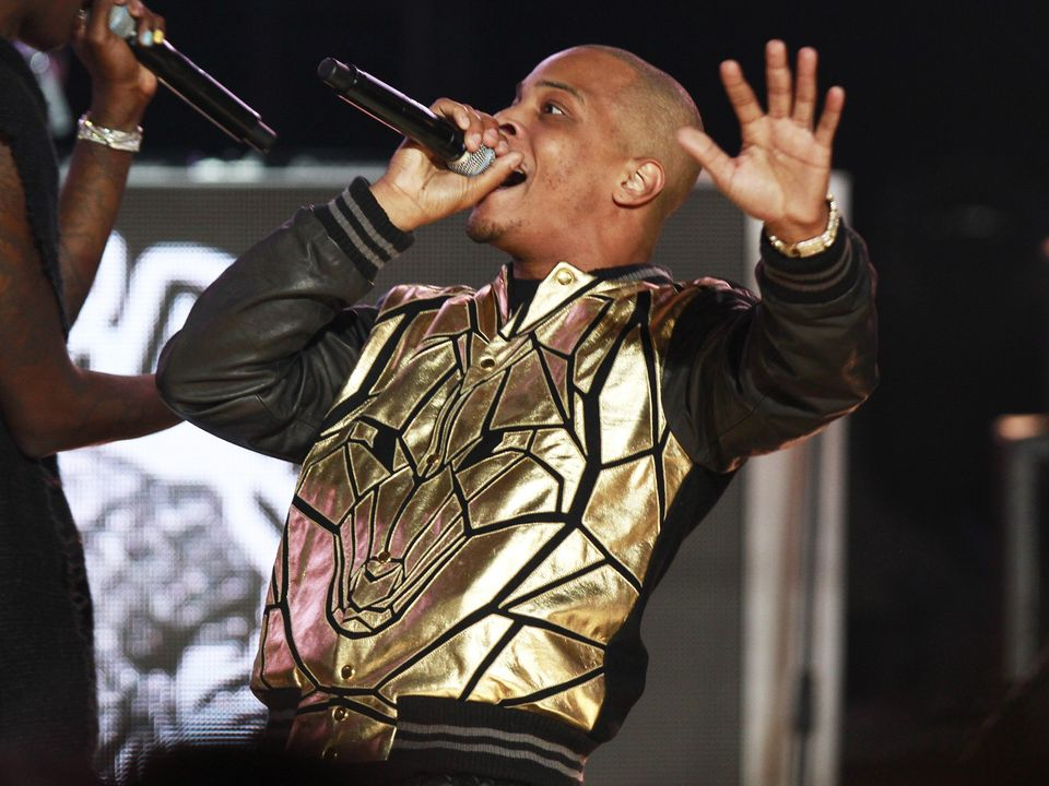 T.I. performs at the 2014 BET Hip Hop Awards held at the Atlanta Civic Center on Saturday, Sept. 20, 2014, in Atlanta (Photo