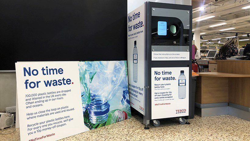 Tesco To Pay Customers 10p For Returning Plastic