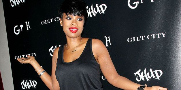 "In this image released by Starpix, Jennifer Hudson appears at the launch party for her new album, ""JHUD,"" at The Gramercy Par"