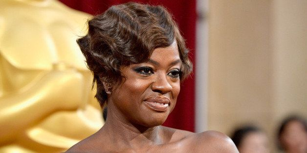 HOLLYWOOD, CA - MARCH 02:  Actress Viola Davis  attends the Oscars held at Hollywood & Highland Center on March 2, 2014 in Ho