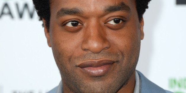 Chiwetel Ejiofor arrives at the 2014 Film Independent Spirit Awards, on Saturday, Mar. 1, 2014, in Santa Monica, Calif. (Phot