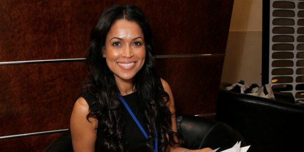 Tracey Edmonds is seen at the 2014 Produced By Conference - Day 1 at Warner Bros. Studios on Saturday, June 7, 2014, in Burba