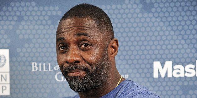 NEW YORK, NY - SEPTEMBER 21:  Actor Idris Elba attends the 2014 Social Good Summit at 92Y on September 21, 2014 in New York C