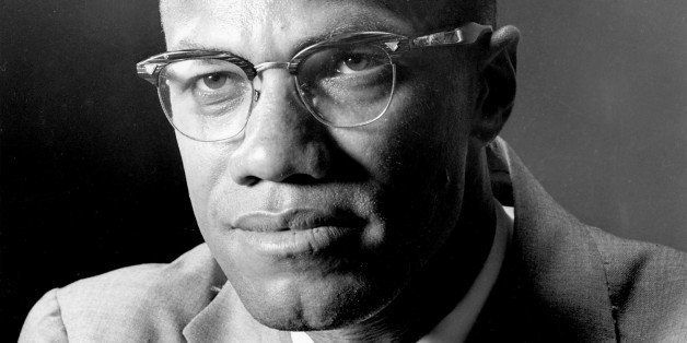 Malcolm X, the black Muslim leader;  photographed in New York  march 5, 1964.  Born Malcolm Little, he evolved into a charist