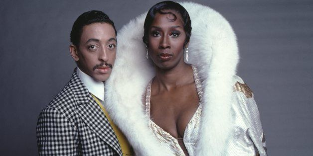 Dancers Judith Jamison and Gregory Hines in costume for their starring roles in 'Sophisticated Ladies' on Broadway photograph