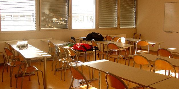 One of the classrooms at university
