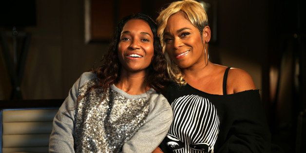 SYDNEY, AUSTRALIA - JUNE 5: (EUROPE AND AUSTRALASIA OUT) (L-R) Rozonda 'Chilli' Thomas and Tionne 'T-Boz' Watkins of American