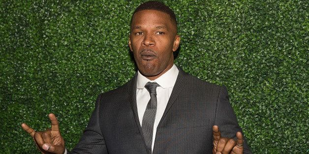 AUSTIN, TX - FEBRUARY 25:  Actor Jamie Foxx arrives at the Texas Medal of Arts Awards at the Long Center on February 25, 2015