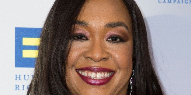 LOS ANGELES, CA - MARCH 14:  Honoree Shonda Rhimes attends the 2015 Human Rights Campaign Los Angeles Gala dinner at JW Marri