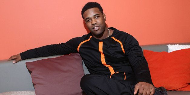 NEW YORK, NY - AUGUST 25:  Recording artist A$AP Ferg visits 106 & Park at BET studio on August 25, 2014 in New York City.  (