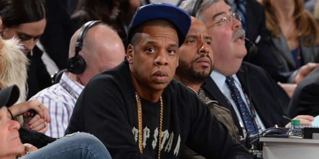 NEW YORK, NY - FEBRUARY 15:  Jay Z attends the 64th NBA All-Star Game presented by KIA as part of the 2015 NBA All-Star Weeke