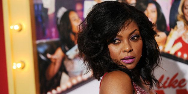 "Taraji P. Henson, a cast member in ""Think Like A Man Too,"" poses at the premiere of the film on Monday, June 9, 2014 in Los A"