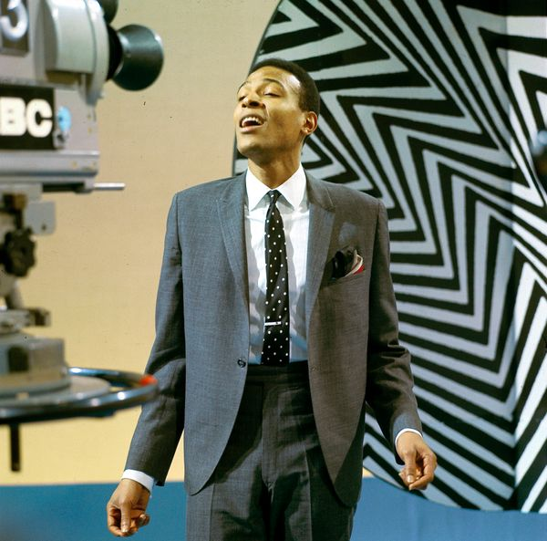 Photo of Marvin GAYE, Marvin Gaye performing on tv show  (Photo by David Redfern/Redferns)
