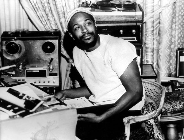 USA  Photo of Marvin GAYE, Portrait of Marvin Gaye, wearing hat  (Photo by Gems/Redferns)