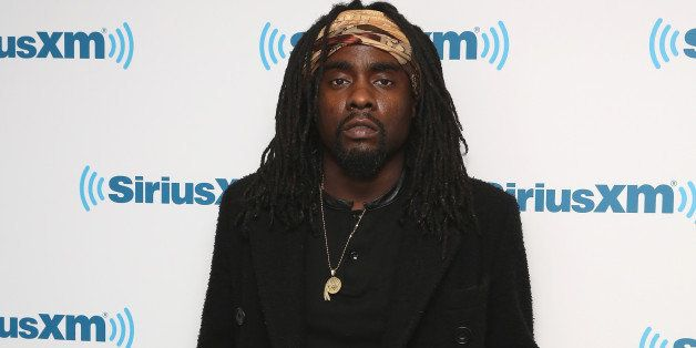 NEW YORK, NY - MARCH 31:  (EXCLUSIVE COVERAGE) Wale visits at SiriusXM Studios on March 31, 2015 in New York City.  (Photo by