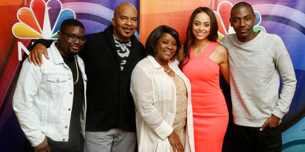 NBCUNIVERSAL EVENTS -- NBCUniversal Summer Press Day, April 2015 -- 'The Carmichael Show' -- Pictured: (l-r) Lil Rel Howery,