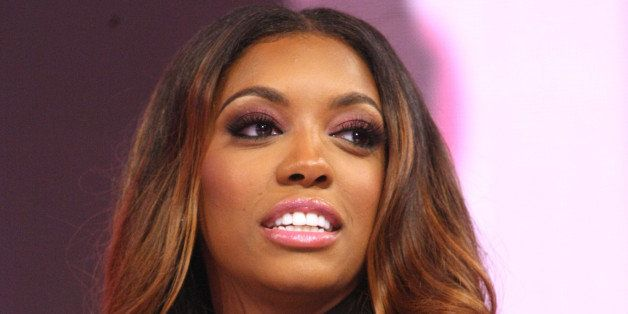 NEW YORK, NY - JUNE 09:  TV personality Porsha Williams visits 106 & Park at BET studio on June 9, 2014 in New York City.  (P