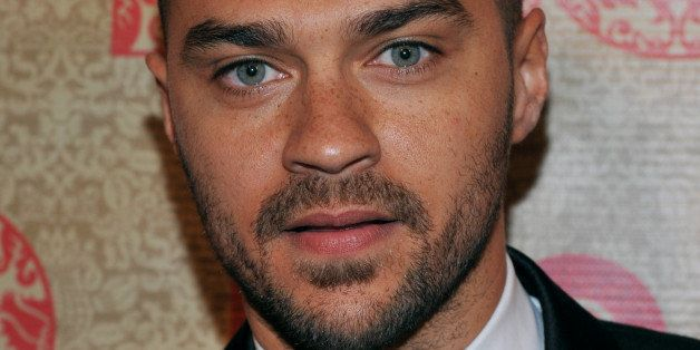 Jesse Williams arrives at the HBO Golden Globes after party at the Beverly Hilton Hotel on Sunday, Jan. 12, 2014, in Beverly