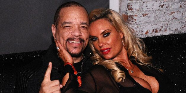 NEW YORK, NY - DECEMBER 12:  Rapper Ice-T and Coco Austin attend the Z100 Jingle Ball 2014 after party presented by GTA and P