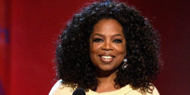 SANTA MONICA, CA - FEBRUARY 21:  Oprah Winfrey speaks onstage during the 2015 Film Independent Spirit Awards at Santa Monica