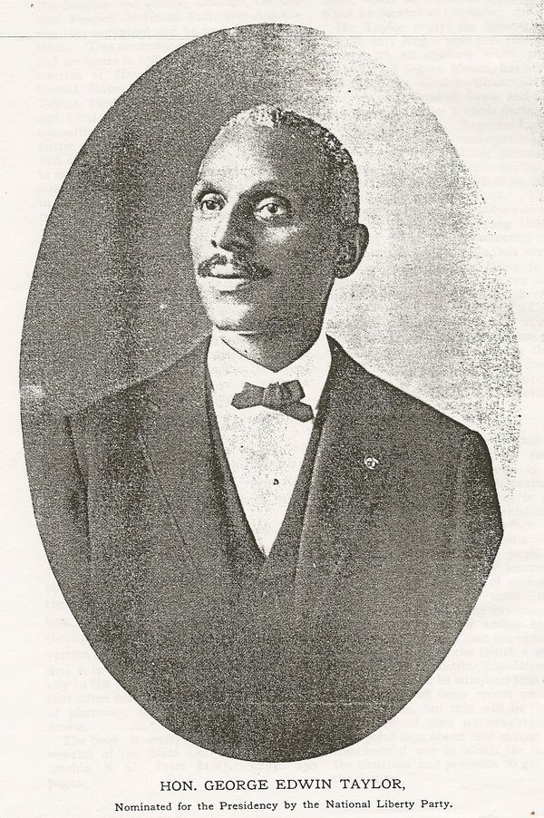 """George Edwin Taylor was America's first African-American presidential candidate. In 1891, he <a href=""""http://www.blackpast.or"""