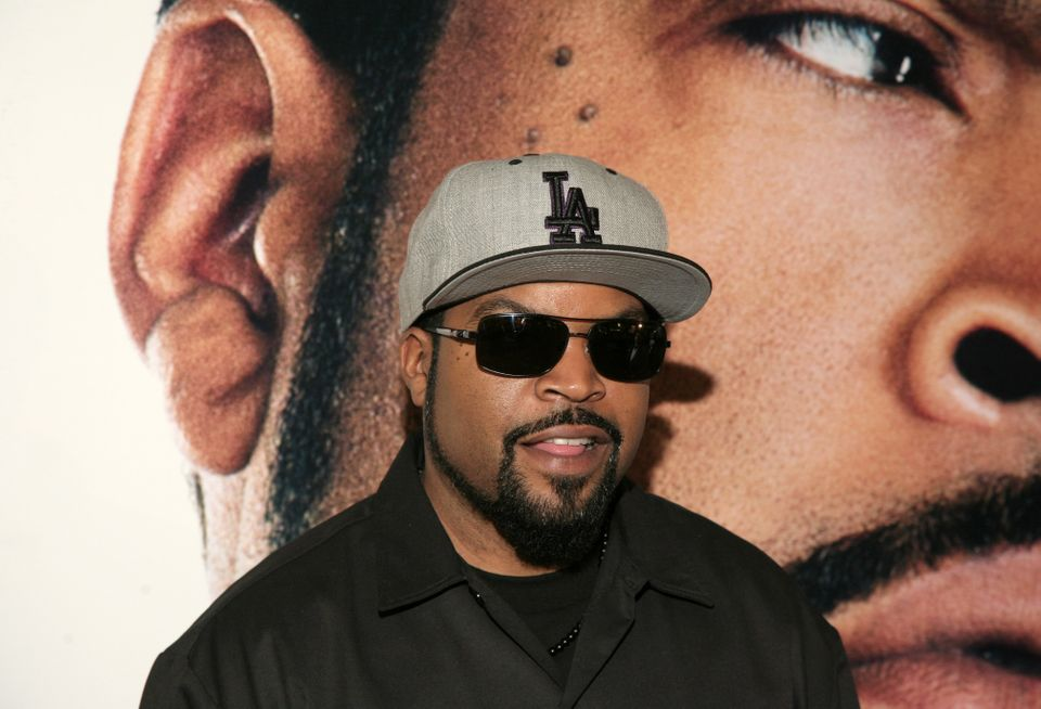 "FILE - In this Wednesday, Jan. 15, 2014 file photo, recording artist and actor Ice Cube attends a screening of ""Ride Along,"""