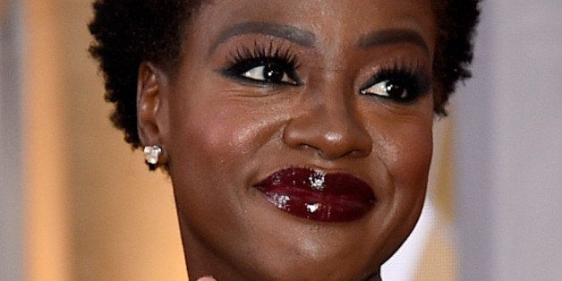 HOLLYWOOD, CA - FEBRUARY 22:  Actress Viola Davis attends the 87th Annual Academy Awards at Hollywood & Highland Center on Fe