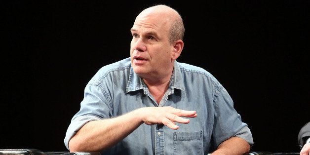 NEW YORK, NY - APRIL 24:  David Simon, creator of HBO series 'The Wire', talks during Future Of Film Panel: Stories By Number