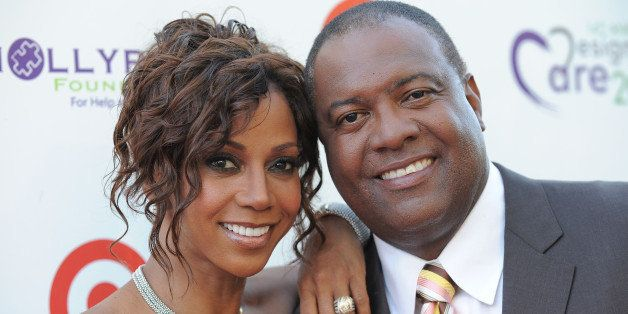 Holly Robinson Peete and Rodney Peete arrive at the 14th Annual DesignCare to benefit the HollyRod Foundation on Saturday, Ju
