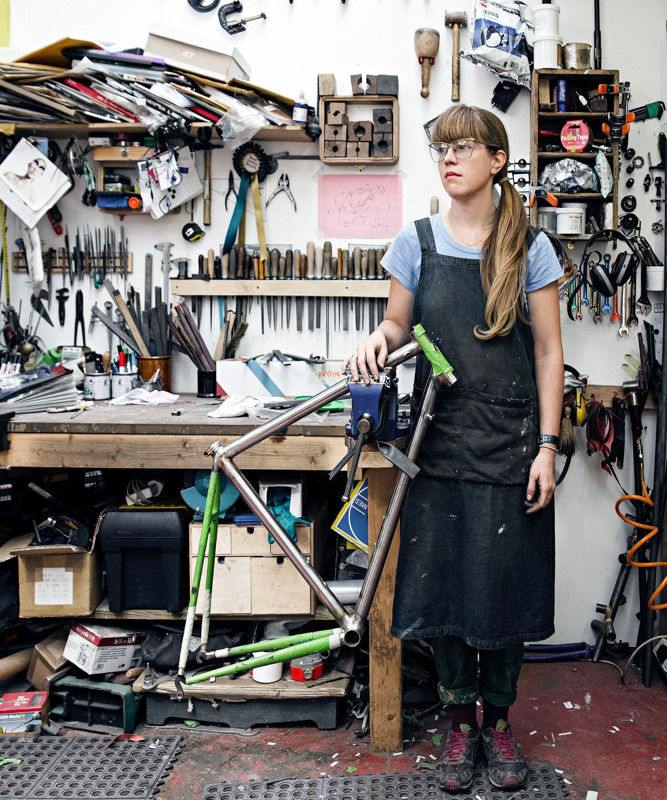 Bike Builder Caren Hartley On The Female Inspiration That Encouraged Her To
