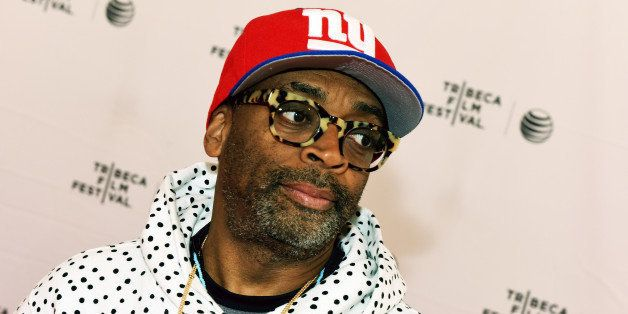 NEW YORK, NY - APRIL 19:  Filmmaker Spike Lee attends Tribeca Talks/ESPN Sports Film Festival: The Greatest Catch Ever during