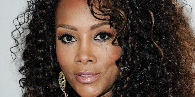 Vivica A. Fox arrives at Vivica A. Fox's Fabulous 50th Birthday Celebration on Saturday, Aug. 2, 2014, in Beverly Hills, Cali