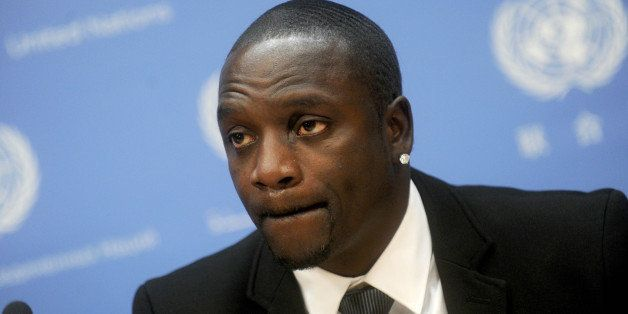 Photo by: Dennis Van Tine/STAR MAX/IPx 5/20/15 Akon visits The United Nations. (NYC)