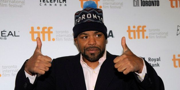 """Method Man attends the premiere of """"The Cobbler"""" on day 8 of the Toronto International Film Festival at the Elgin Theatre on"""
