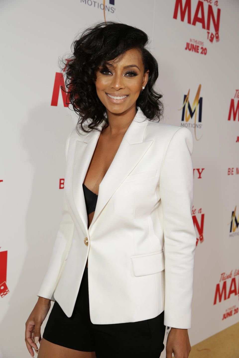 Keri Hilson seen at the The World Premiere of Screen Gems' 'Think Like a Man Too' on Monday, June 9, 2014 in Los Angeles. (Ph