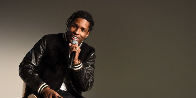 NEW YORK, NY - APRIL 21:  ASAP Rocky attends Tribeca Talks:Tribeca Film Festival: CRWN with Elliott Wilson and A$AP Rocky dur