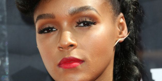 LOS ANGELES, CA - JUNE 28:  Recording artist Janelle Monae attends the 2015 BET Awards at the Microsoft Theater on June 28, 2