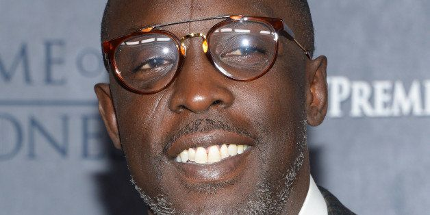 """Actor Michael K. Williams attends HBO's """"Game of Thrones"""" fourth season premiere at Avery Fisher Hall on Tuesday, March 18, 2"""