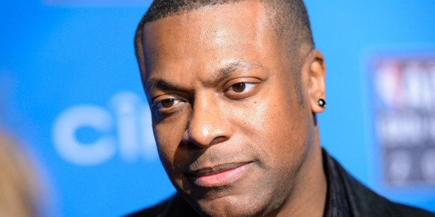Actor Chris Tucker attends the 2015 NBA All-Star Game at Madison Square Garden on Sunday, Feb. 15, 2015, in New York. (Photo