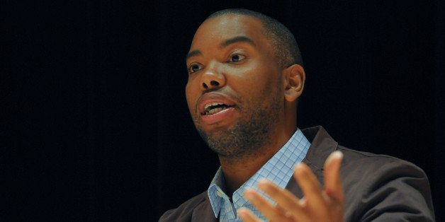ASPEN, CO - JULY 01: Ta-Nehisi Coates speaks during the film screening and discussion of 'Sing Your Song' at the Aspen Instit