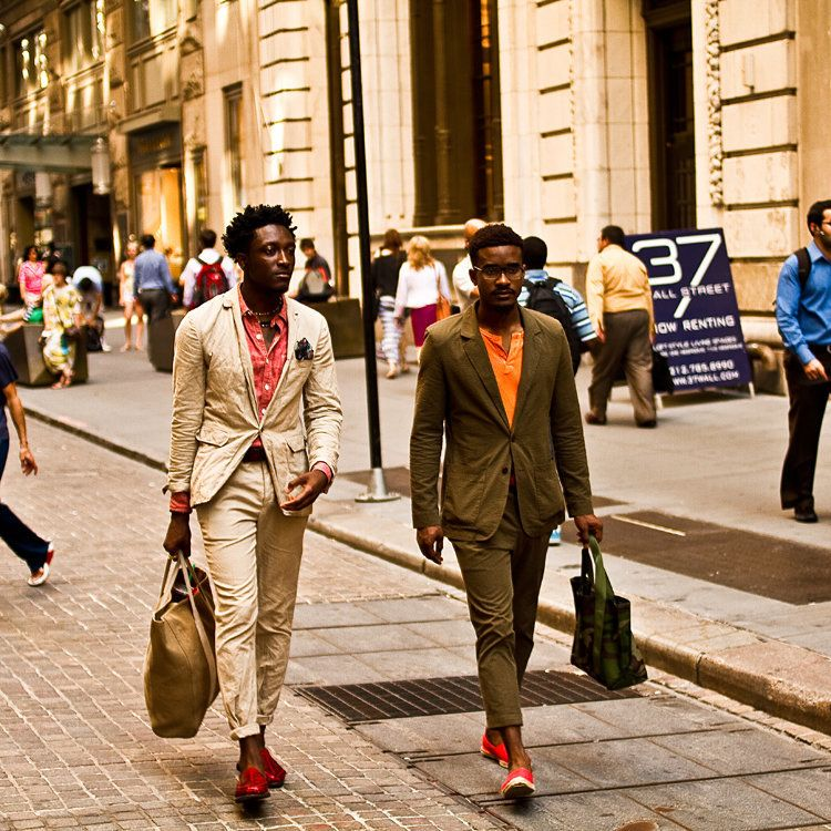 Click through enough style websites and you'll start to see the same two incredibly well-dressed young black men over and ove
