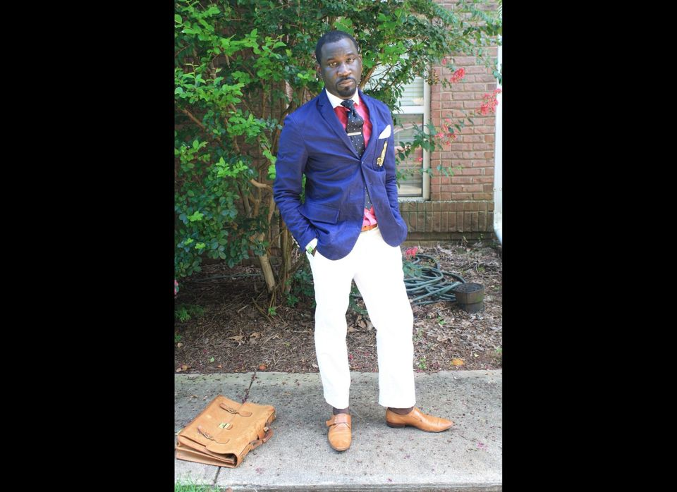 """For <strong>Rashon Carraway</strong>, thrifting began as a way to personalize his wardrobe. """"Coming from a very small town in"""