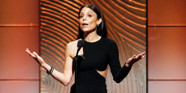 Television personality Bethenny Frankel presents the outstanding culinary program award during the 40th annual Daytime Emmy A