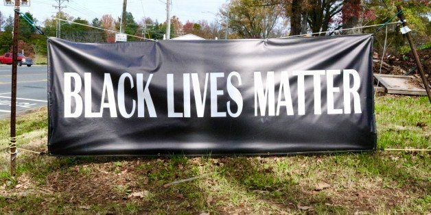 This is a Black Lives Matter Banner in Charlotte, NC, November 2015. Camera - Canon 7D Mark II, Lens - Canon EF 200mm f/2L IS