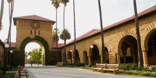 Campus view of Stanford University,Stanford California USA (editorial use only, please)