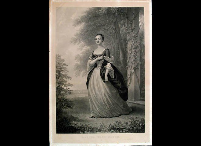 At the age most people enter their freshman year of college, Martha Washington was already married, but not to Washington.  A