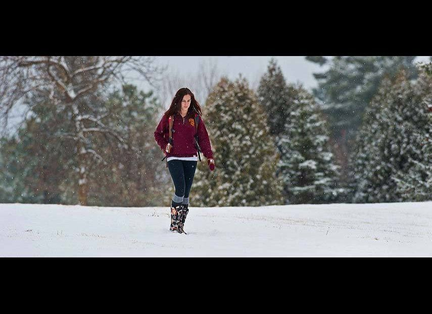 """University of Minnesota-Duluth ranked the highest on the """"Hotness Index"""" for women."""