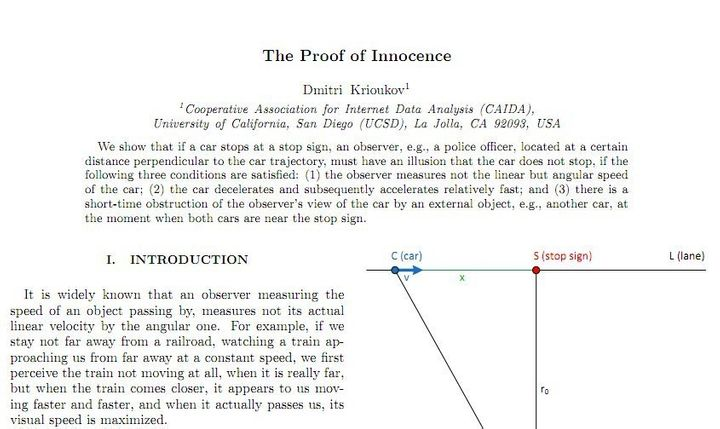 Dmitri Krioukov, Physicist, Writes Four Page Paper To Avoid