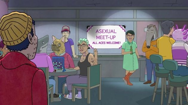 BoJack was one of the first mainstream TV shows to look at